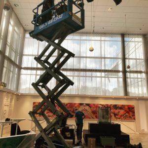 Hanging Exhibiton