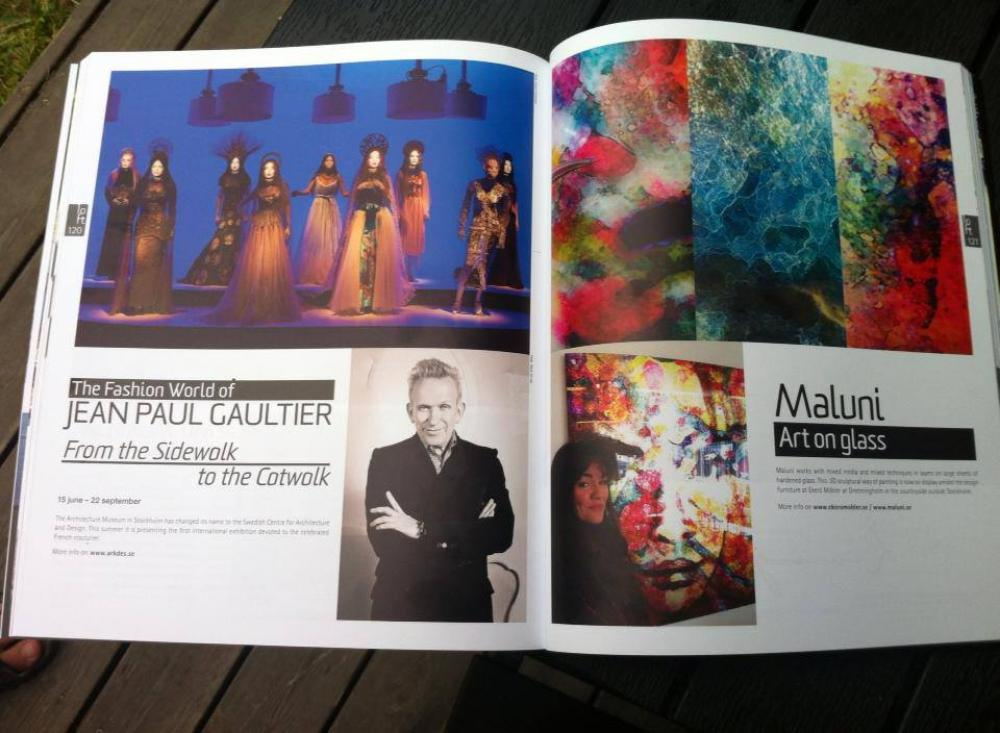 Maluni in Loft Art & Design Mag